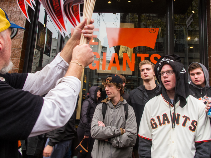 2014 SF Giants World Series celebration. Market Street, San Francisco, CA./ ©Stella Kalaw