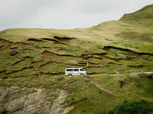 Traveling by Van. Batanes, Philippines/ ©Stella Kalaw