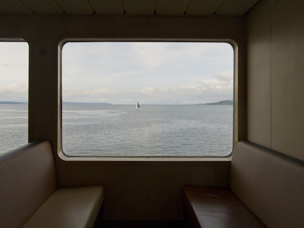 Ferry to Bainbridge Island. Seattle, WA/ ©Stella Kalaw