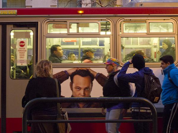 Market Street Bus Stop. San Francisco, CA./ ©Stella Kalaw