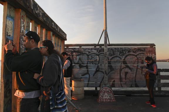 Berkeley Pier at Sunset. Berkeley, CA/ ©Stella Kalaw