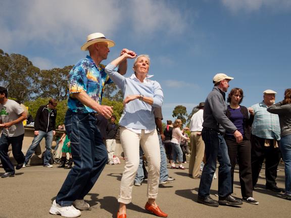 Swing dancing at Golden Gate Park. San Francisco, CA/ ©Stella Kalaw