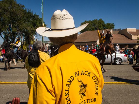 Oakland Black Cowboy Parade. West Oakland, CA/ ©Stella Kalaw