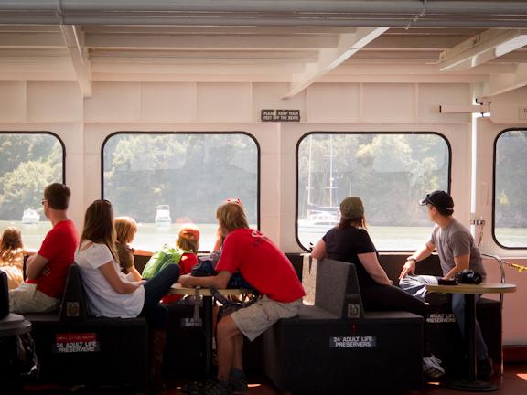 Angel Island Ferry. Tiburon, CA/ ©Stella Kalaw