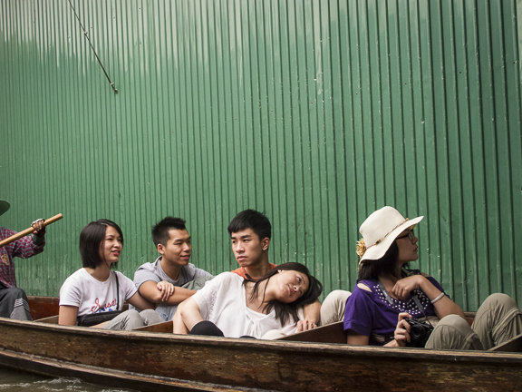 Damnoen Saduak Floating Market. Bangkok, Thailand./ ©Stella Kalaw