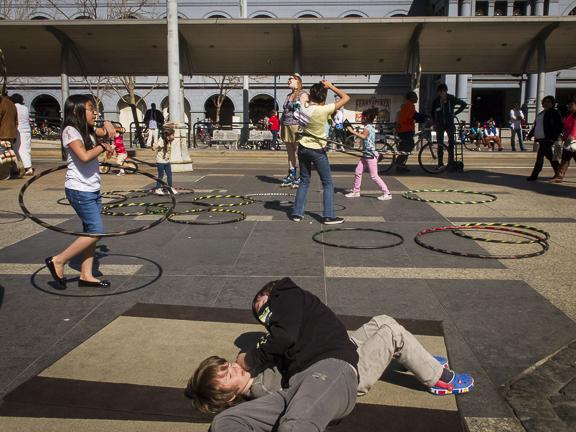 Wrestling boys. San Francisco, CA / ©Stella Kalaw