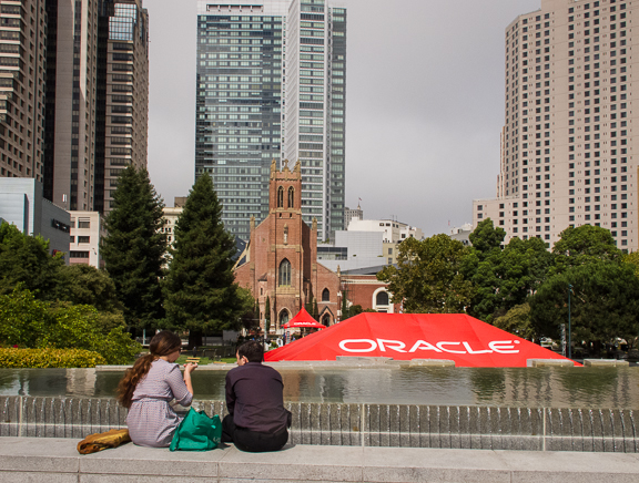 Oracle Openworld 2013. Yerba Buena Gardens. San Francisco, CA/ ©Stella Kalaw