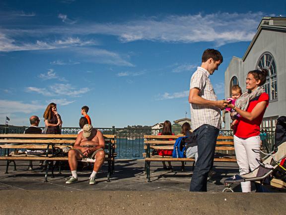 Embarcadero Street. San Francisco, CA/ ©Stella Kalaw