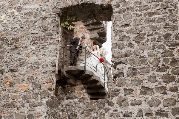 Lollar – Burg Staufenberg: Brautpaar Shooting