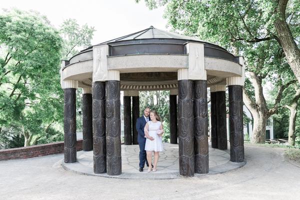 Darmstadt: Hochzeitsturm auf der Mathildenhöhe