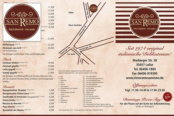 San RemoRestaurant– Gießen - Lollar