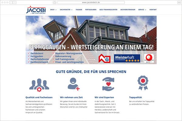 JACOBI  Dachdecker - Gießen