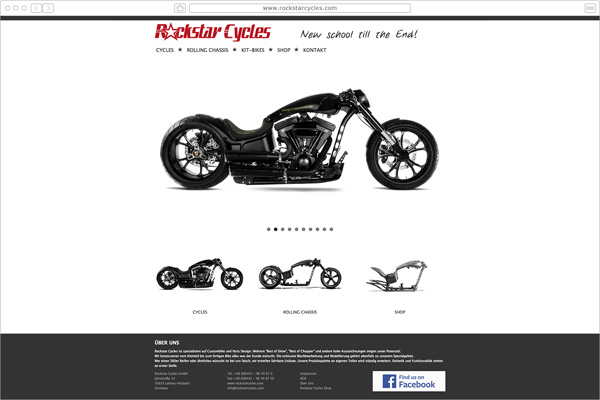 Rockstar Cycles  Custombikes - Gießen