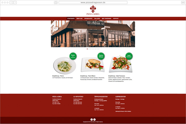 Pizza Adria Restaurant -Gießen