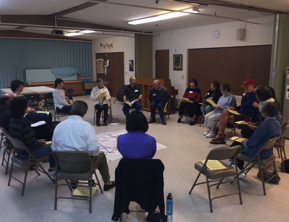 enneagram workshop participants, facilitated by matt schlegel