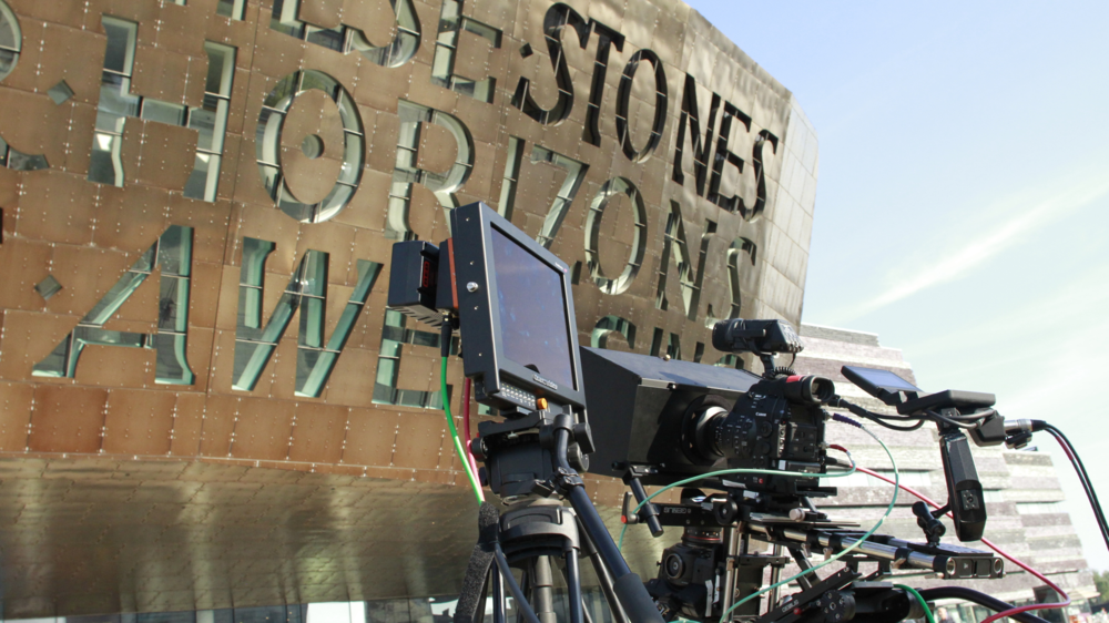 3D Stereoscopic Filming of  William Tell  Welsh National Opera, Cardiff Moving Image Wales