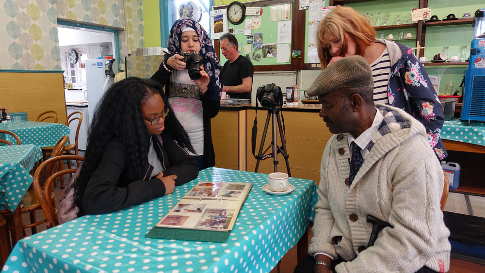 Windrush Heritage Project African Community Centre Swansea (Artist)