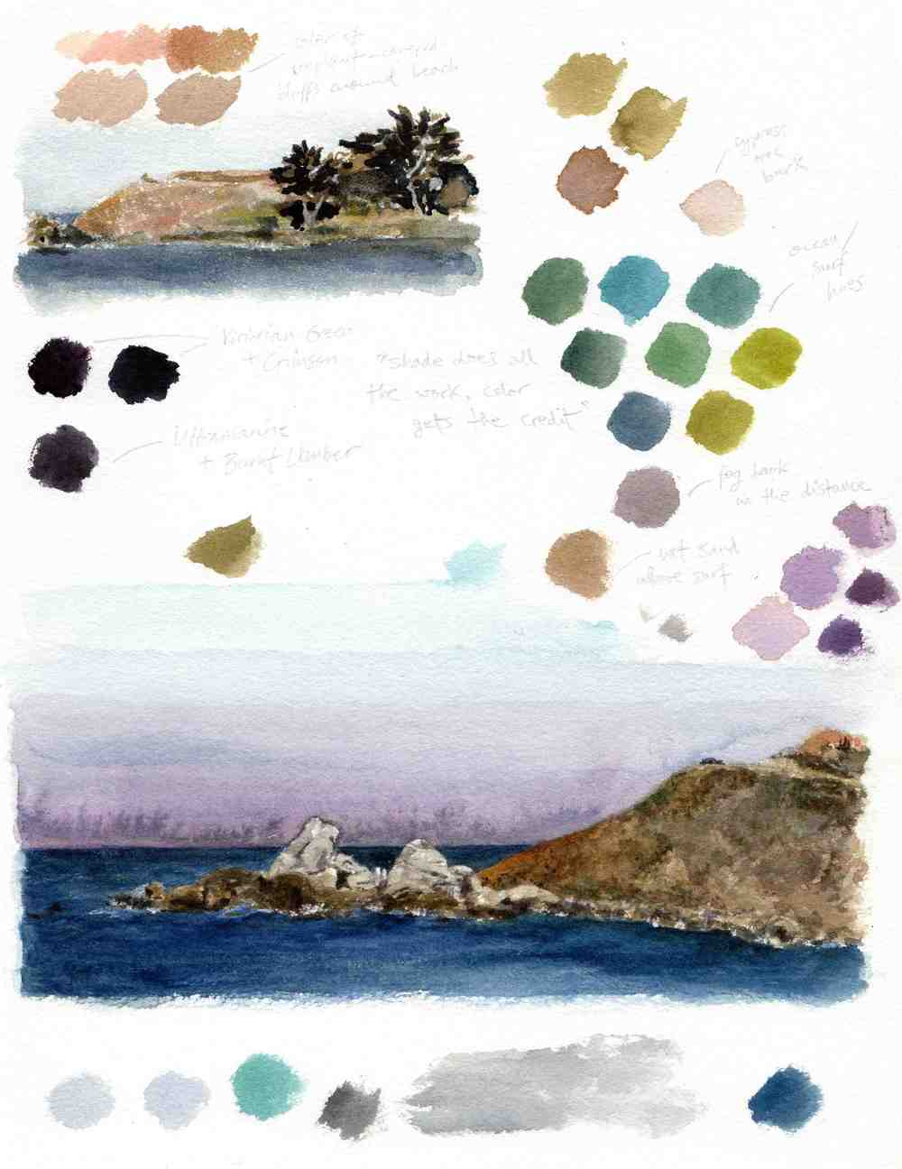Landscape Color Study