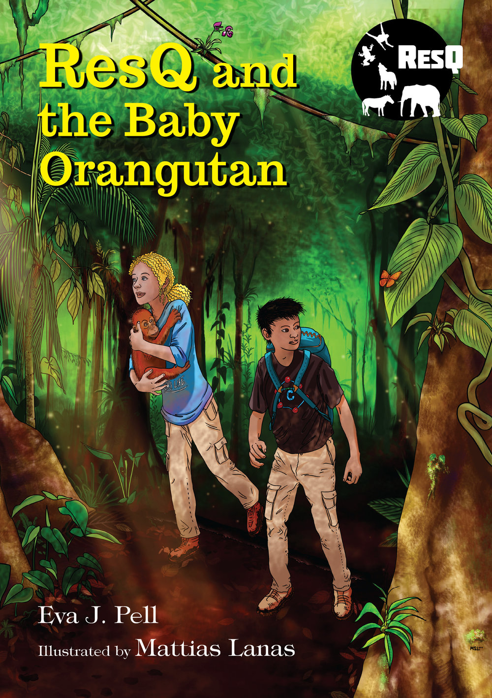ResQ and the Baby Orangutan