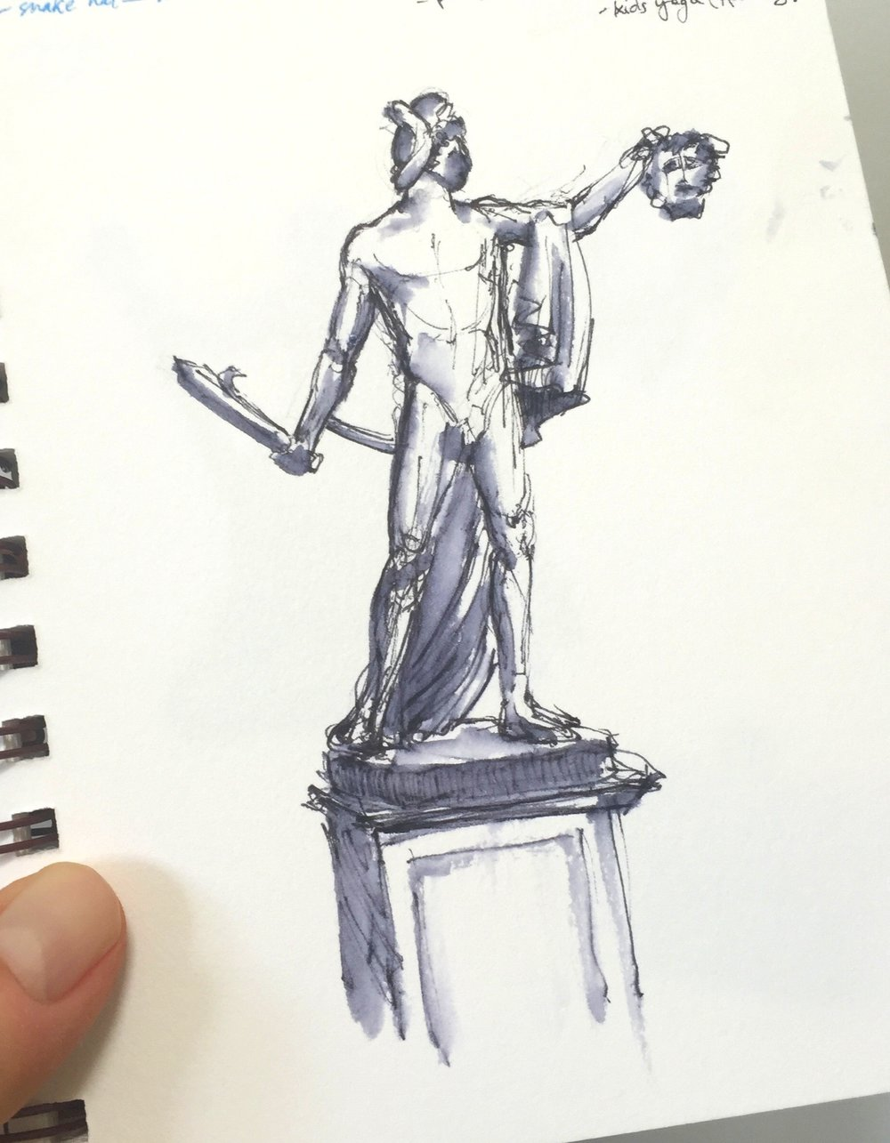 Statue Drawing