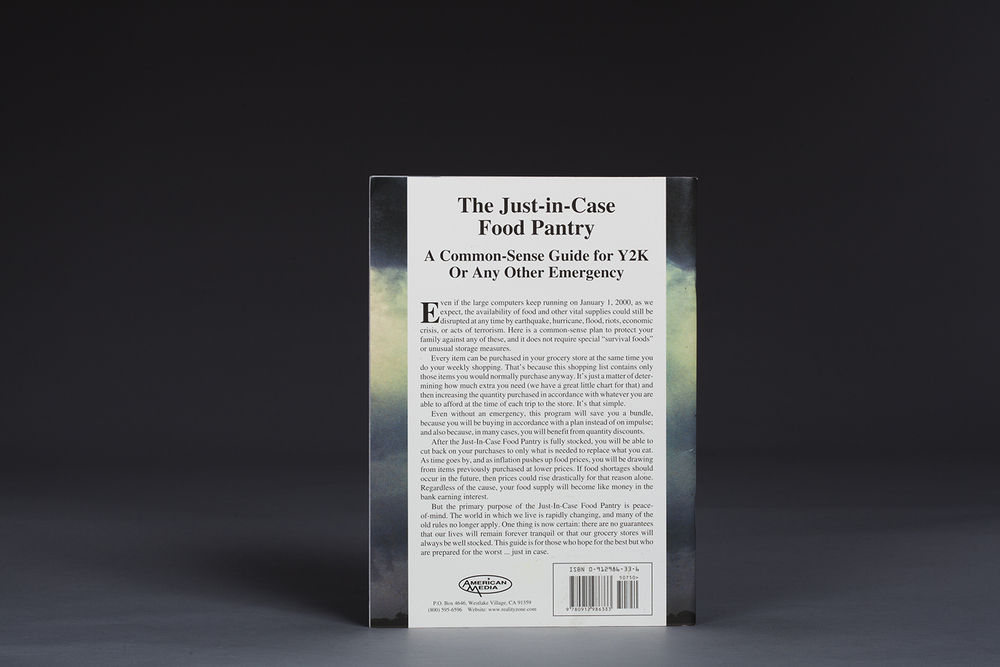 The Just-in-Case Food Pantry - A Common-Sense Guide for Y2K - 0705 Back.jpg