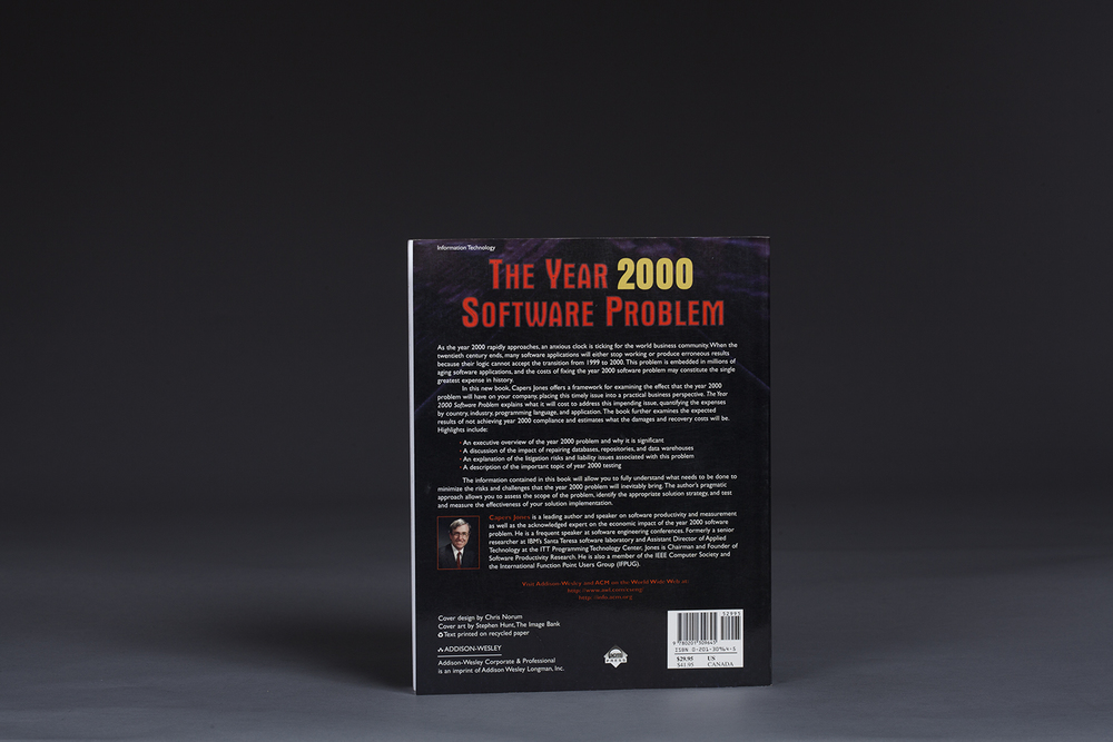 The Year 2000 Software Problem - Quantifying Costs - 0613 Back.jpg