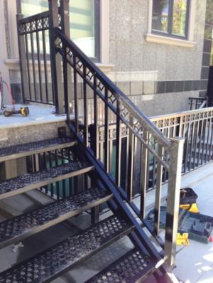 aluminum stairs - Aluminum Stairs