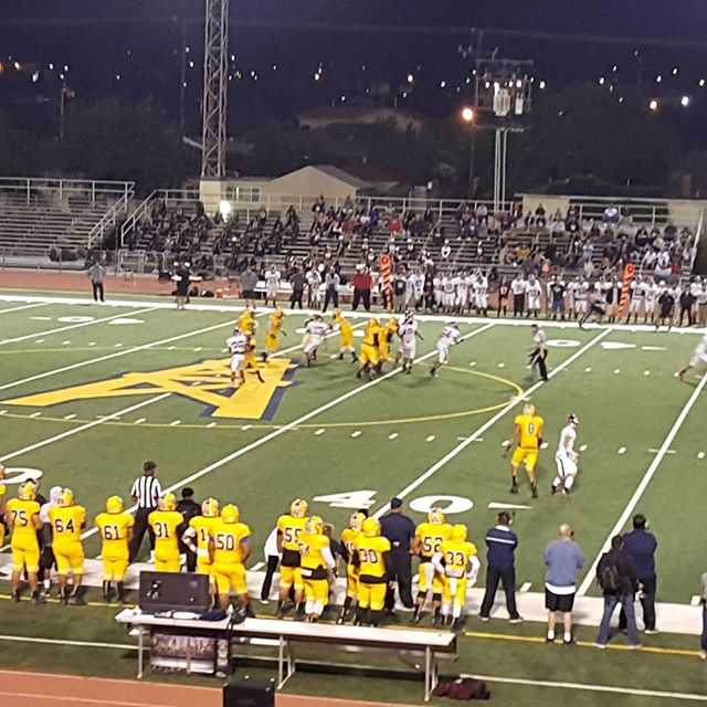 Go  Montebello Oilers up 27-0