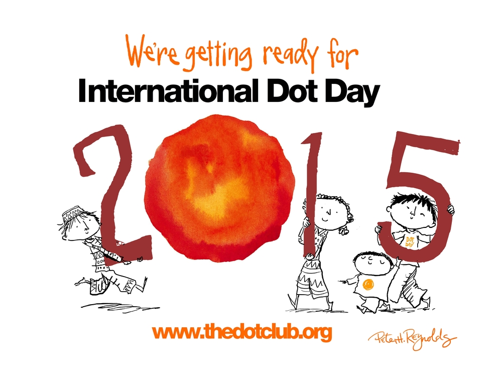 This Dot Day mini-poster is yours to share and promote your #DotDay celebration.  Enjoy!
