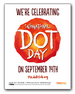 We're Celebrating Dot Day on the 14th of September!