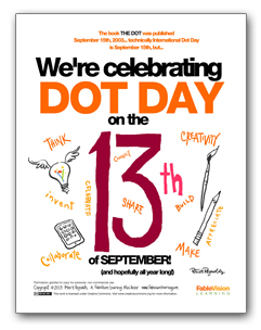 We're Celebrating Dot Day on the 13th of September! (English)