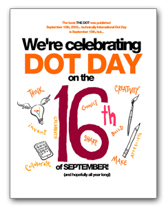 We're Celebrating Dot Day on the 16th of September! (English)