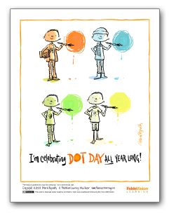 I'm Celebrating Dot Day All Year Long! (Poster 2 - English)