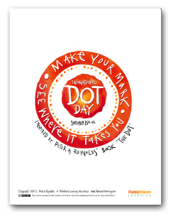 Make Your Mark Dot Day Poster