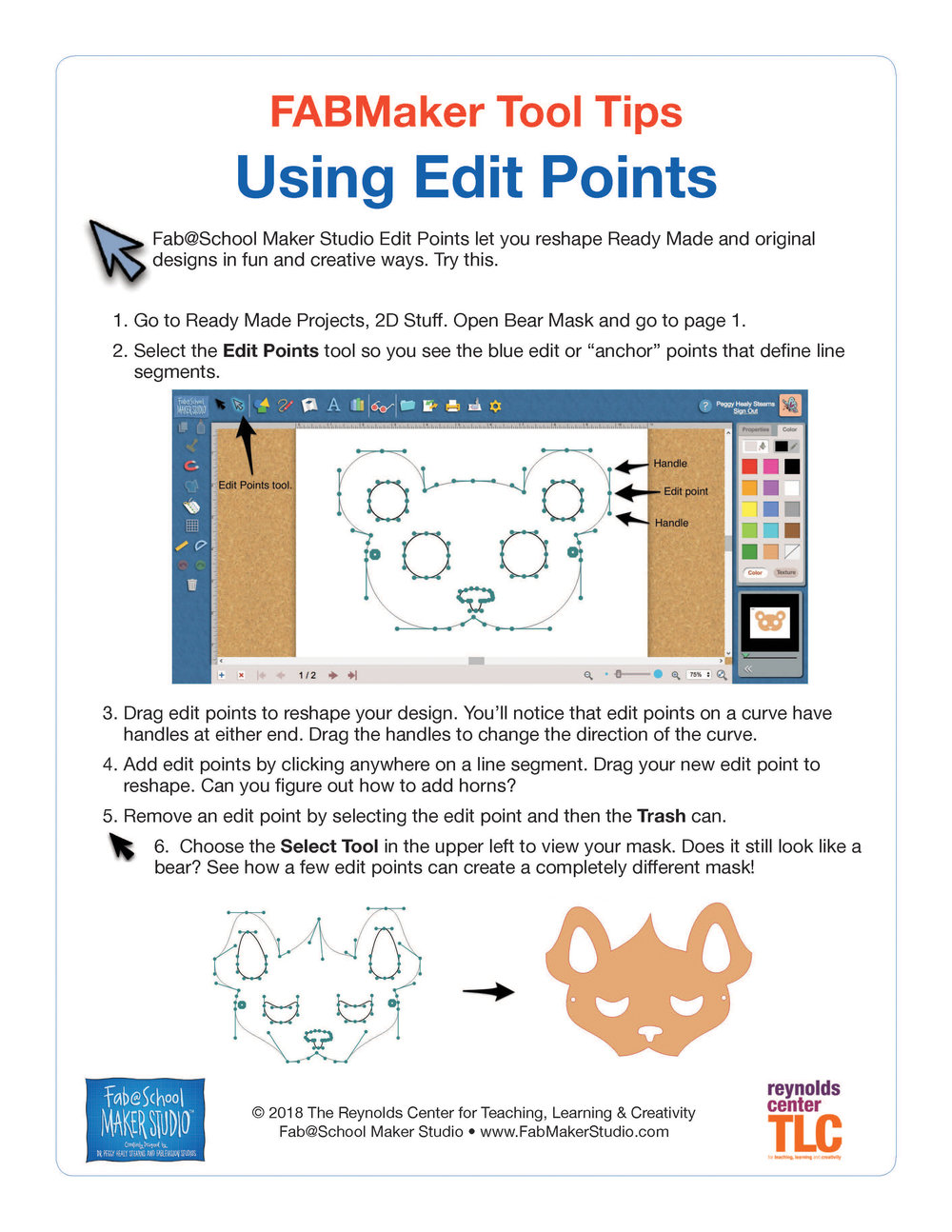 Update Fabschool In The Classroom Reynolds Center For Fuse Box Circuit Builder Fab Maker Studentguides Page 4