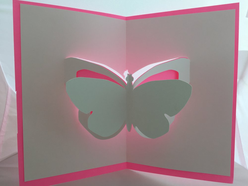 Butterfly Pop-Up