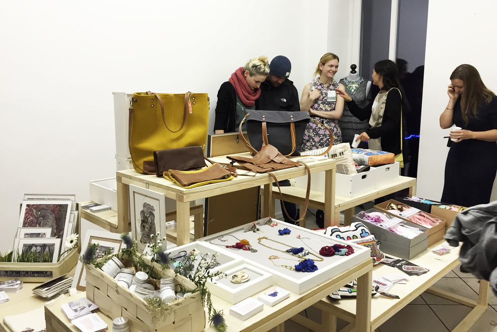 At the Etsy Pop-up Store you find a wide range of handmade goods from Berlin