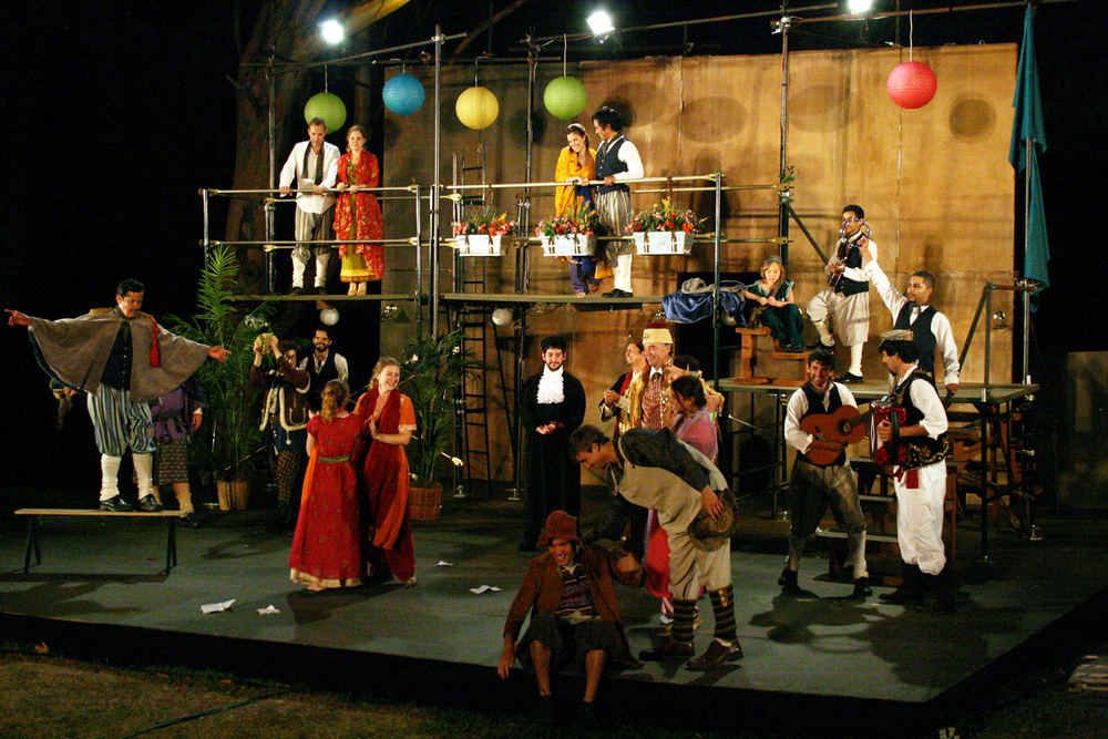 The festival stage, 2010. Photo: Ivy Augusta.