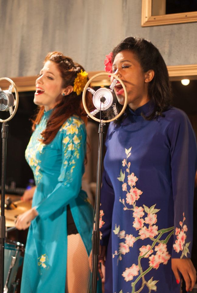 Mary Guilliams & Ashley Nguyen in Comedy of Errors, 2012. Photo: Grettel Cortes.