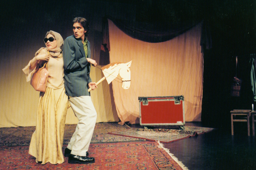 Melissa Chalsma & Jeff Lee in The Two Gentlemen of Verona, Los Angeles, 2004.