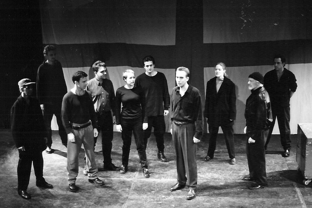 Henry V, our first production. NYC, 1999.