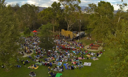 The 2013 Festival. Photo, Colin Burgess.