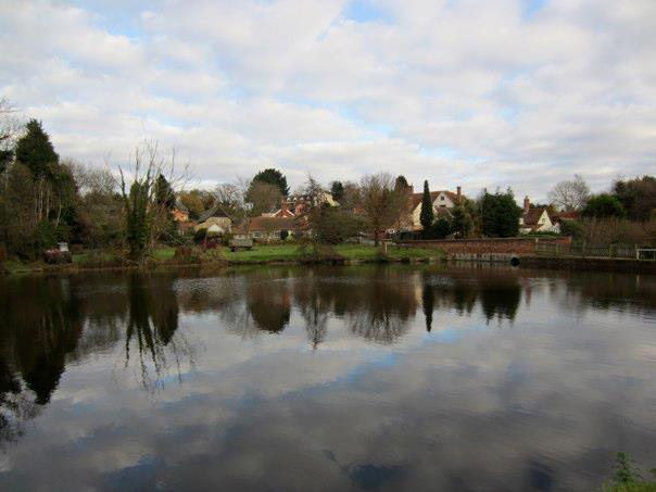 polstead pond, where thomas Corder died.