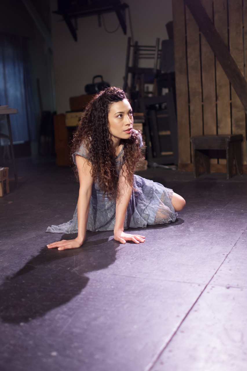 Kalean Ung as Marina in Pericles, Independent Studio. Photo by Grettel Cortes