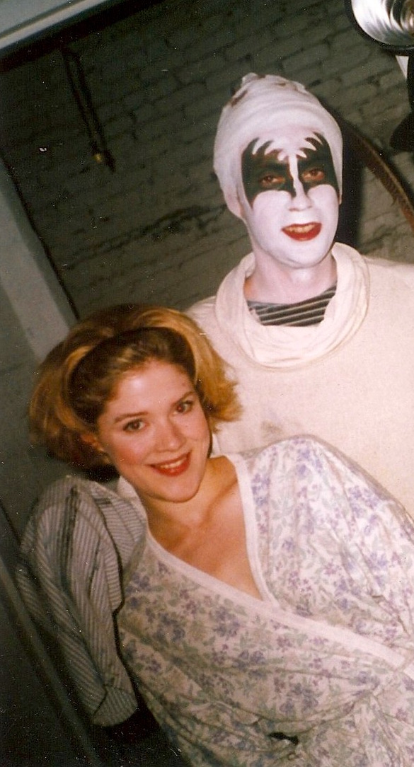 Melissa Chalsma & David Melville in an early play by SHarr White. New York city, mid-1990's