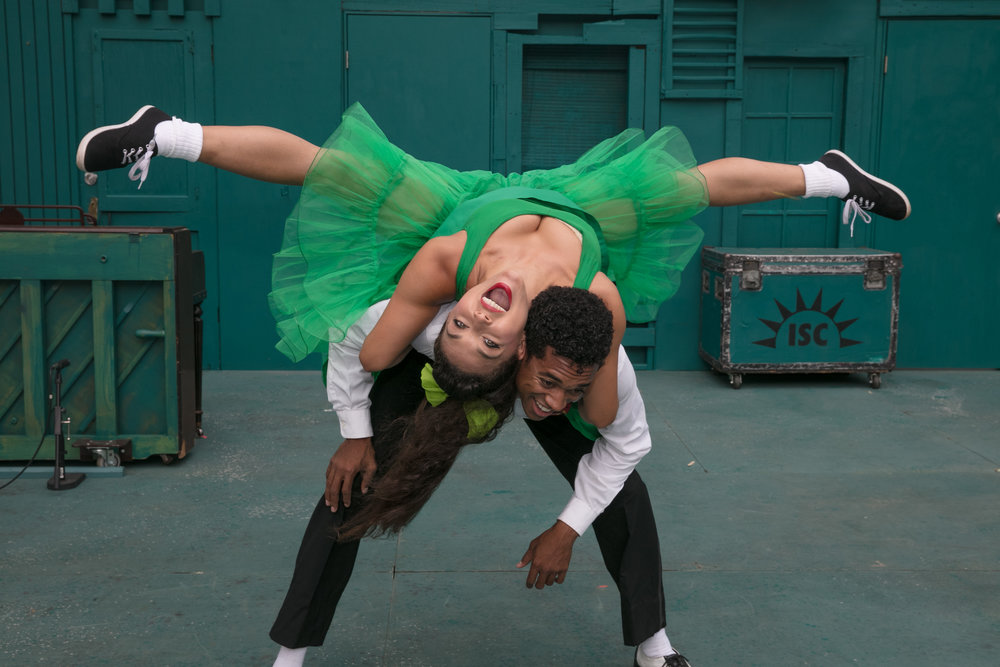 Patrick Batiste and Katie Powers-Faulk. Photo: Grettel Cortes