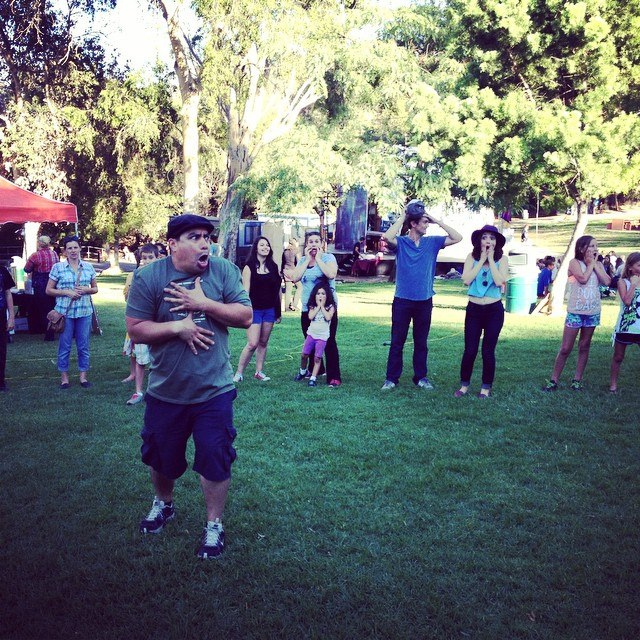 Players in the Park/Teatristas en el parque Family Workshops
