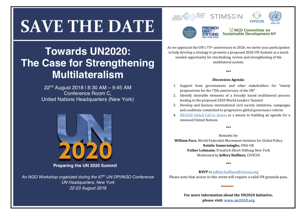 Save the Date_UN2020 & The Case for Strengthening Multilateralism.png