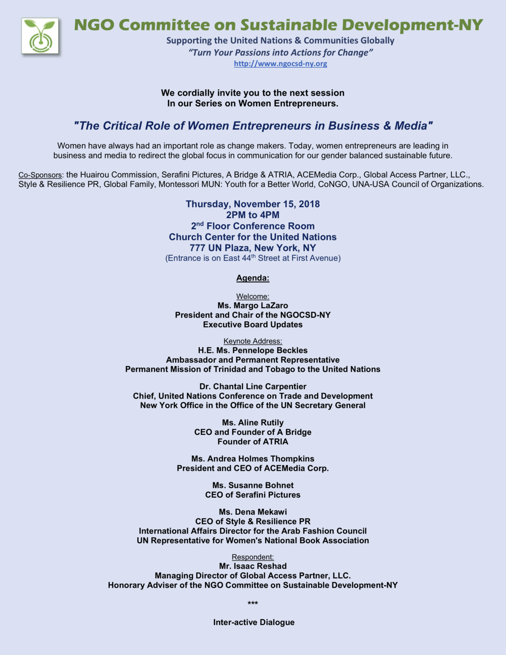 NGOCSD-NY 11-15-18 Women Entrepreneurs Series Invitation A2.png