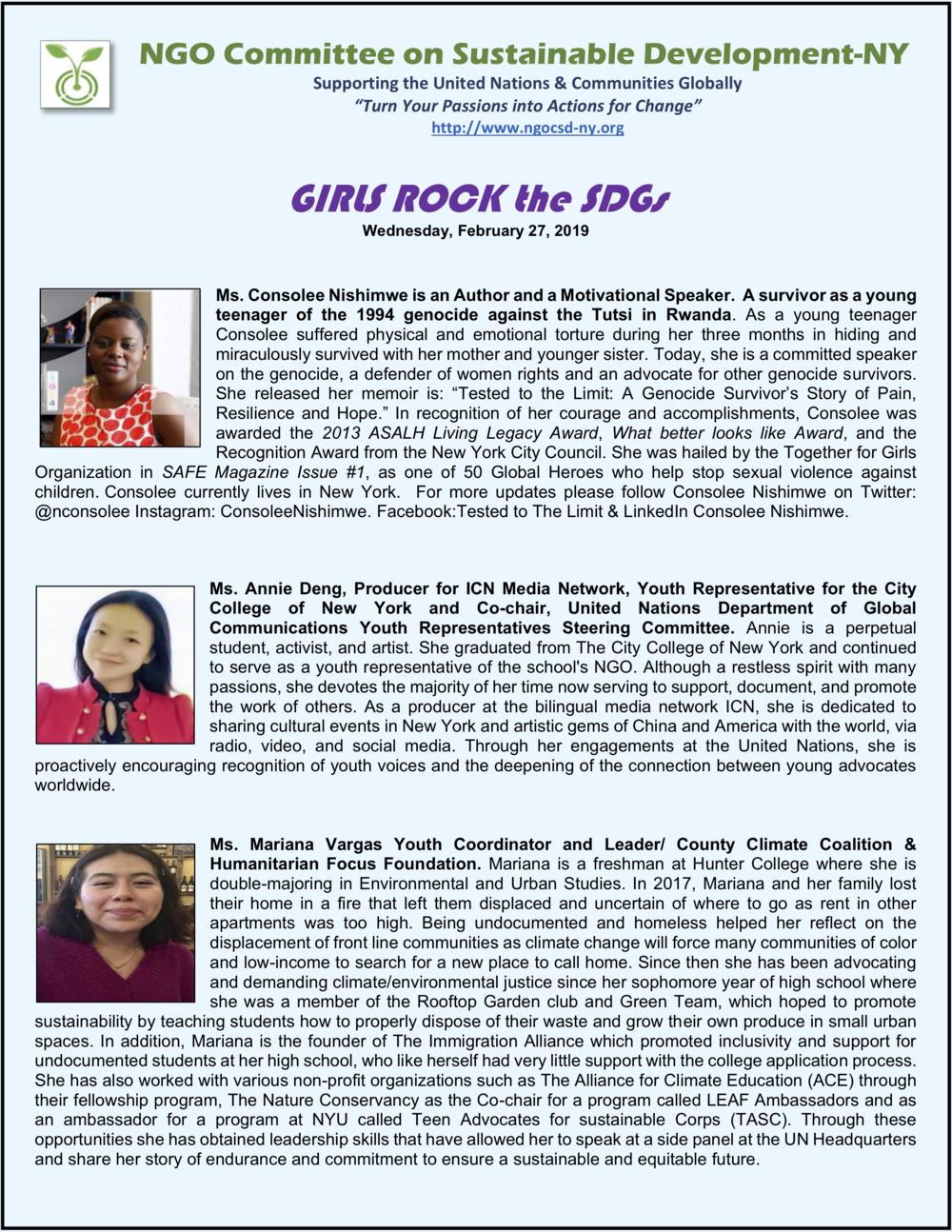 NGOCSD-NY 2-27-19 GIRLS ROCK the SDGs Photo-Bios A2.png